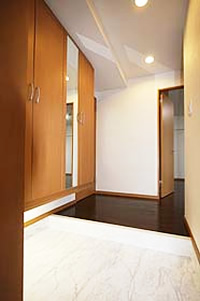 1.気品と実用性あふれる玄関まわりのイメージ
