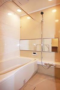 2.大型(1416)フルユニットバスと洗面室のイメージ